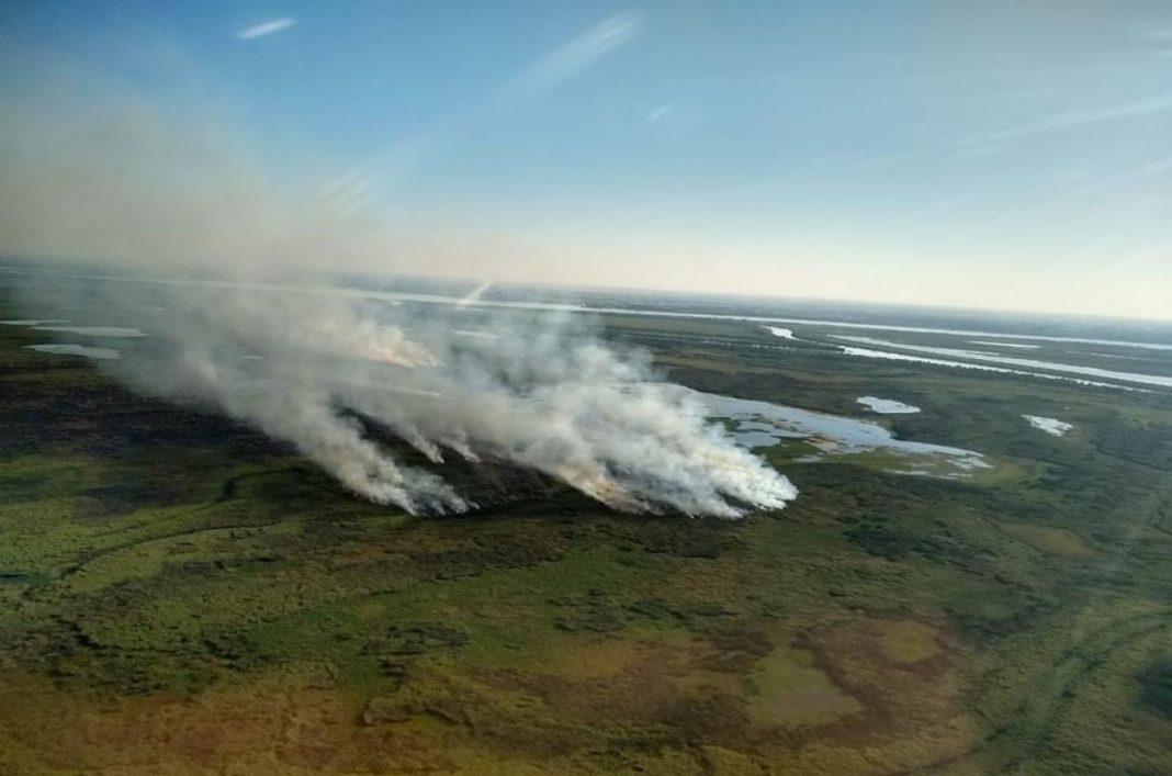 Desde enero se incendiaron 5.642 hectáreas